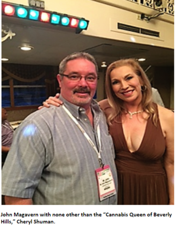 Juanadomain Founder John Magavern meets Cheryl Shuman
