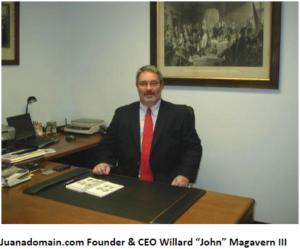 John Magavern, Founder of Juanadomain